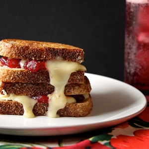 Cranberry Brie Grilled Cheese Recipe