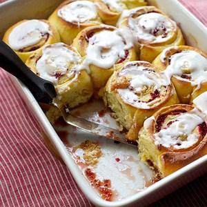 Cranberry Orange Breakfast Buns Recipe