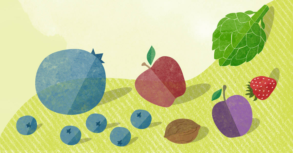 Roll Over Blueberry - A Guide to Antioxidant Rich Foods