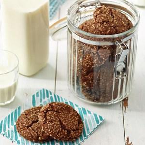 Molasses-Ginger Cookies Recipe