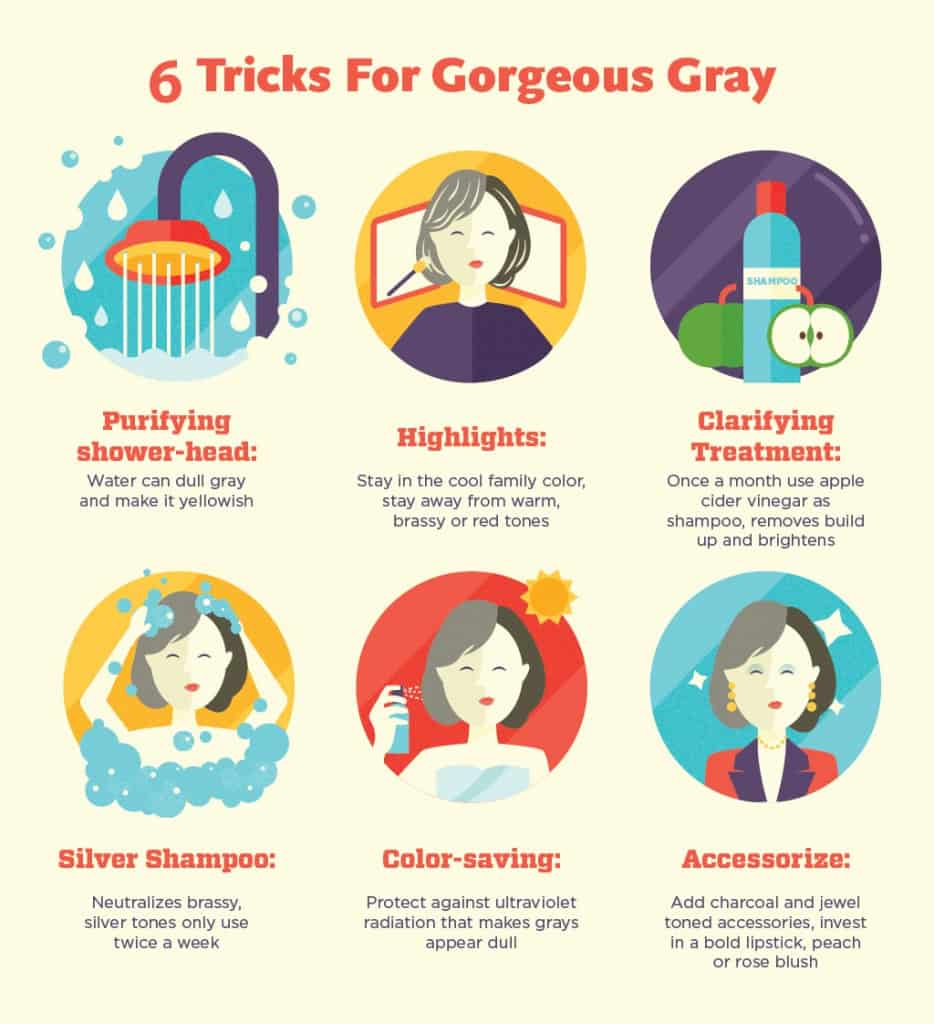 6 Tips For Gorgeous Gray Hair
