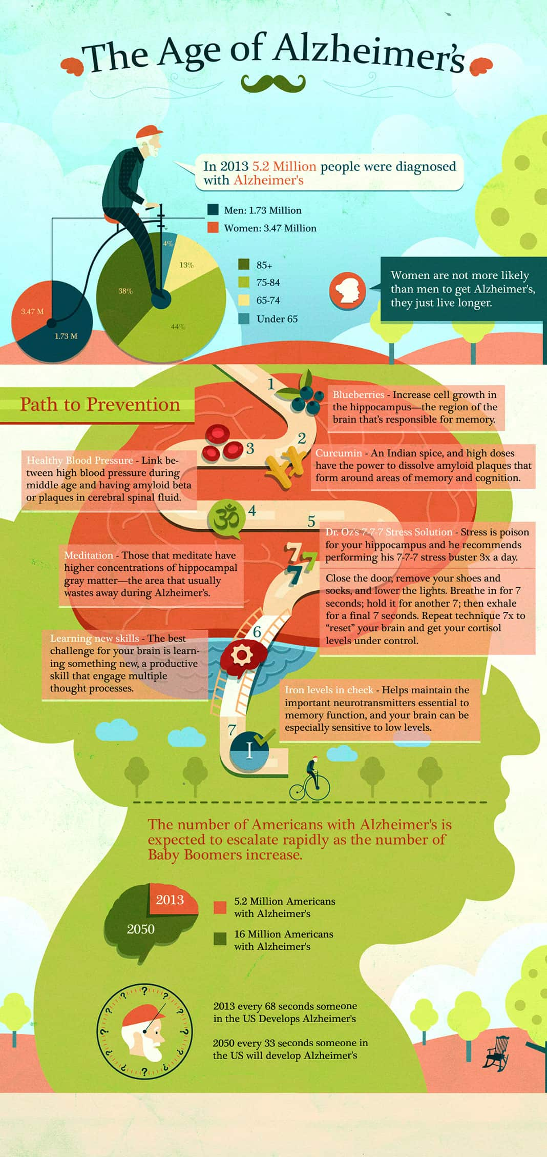 The Age of Alzheimers Graphic
