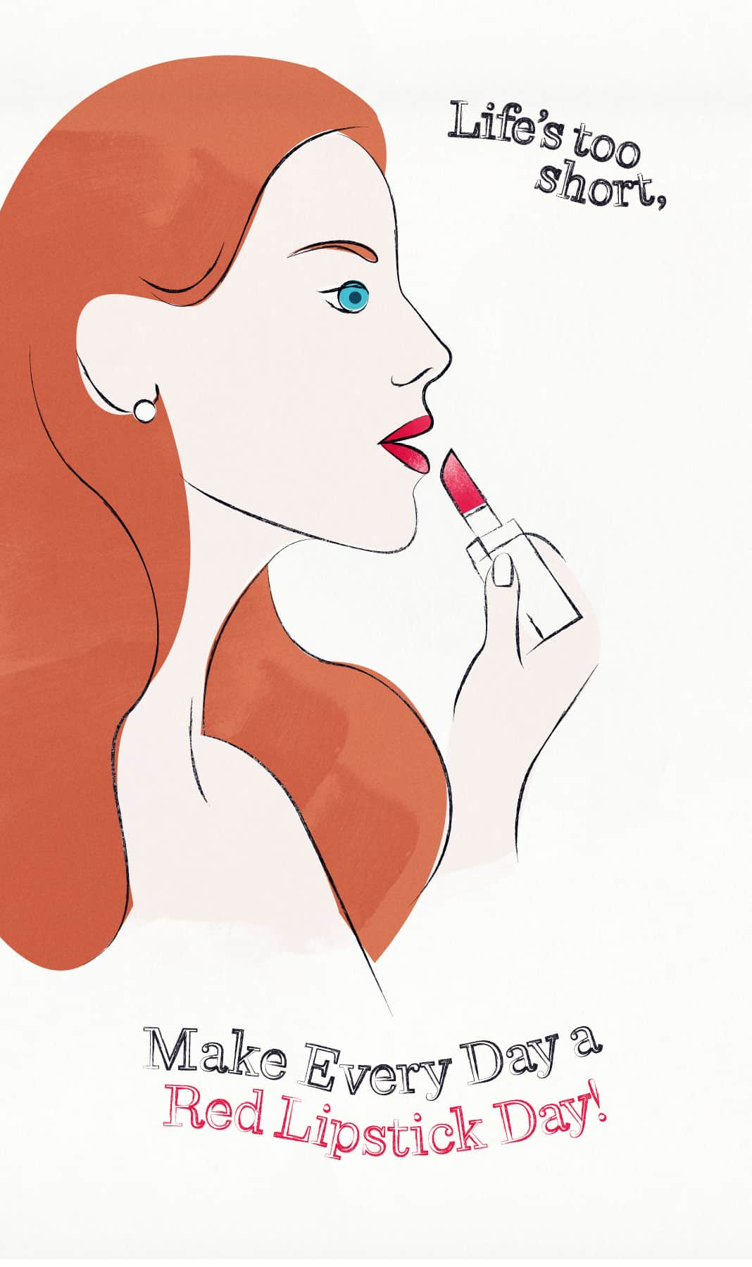 Lipstick Quotes Woman With Red Lipstick Quotes  The Art Of Beauty