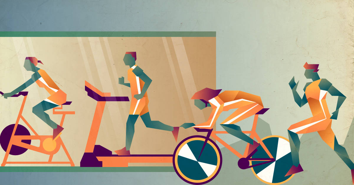 Cycling versus Running - Is Cycling the best form of cardio?