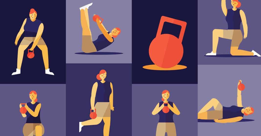 7 Kettlebell Exercises For A Killer Core