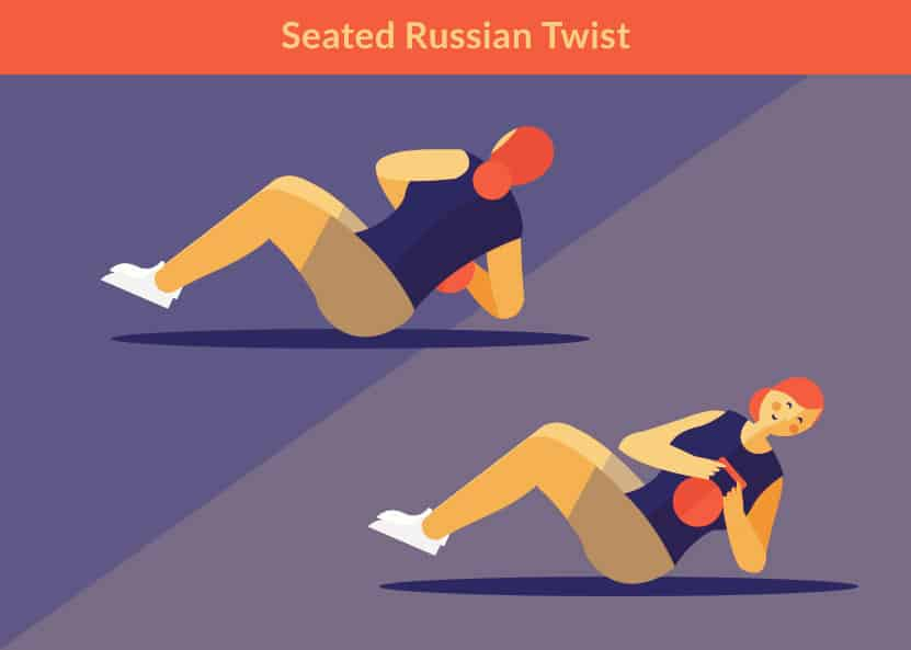 7 Kettlebell Moves for a Killer Core - Russian Twists