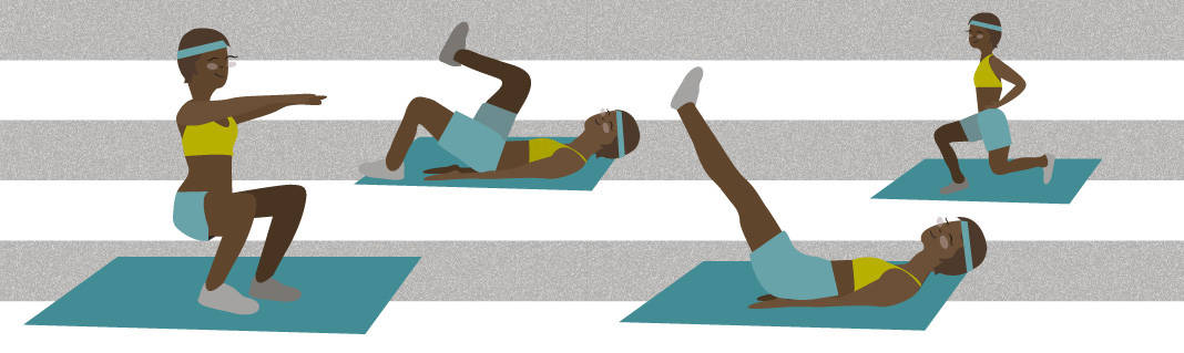 5 Bodyweight Moves for Beginners