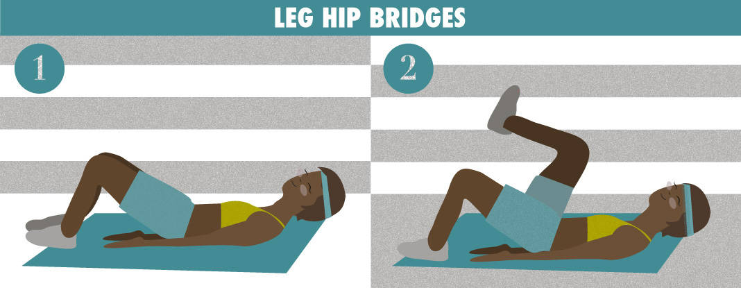 Leg Hip Bridges