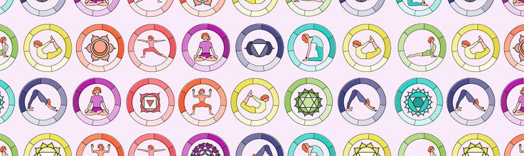 Chakras Poses and Symbols Chart