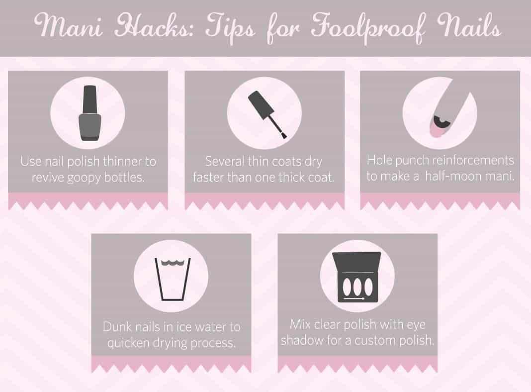 Mani Hacks: Tips for Foolproof Nails