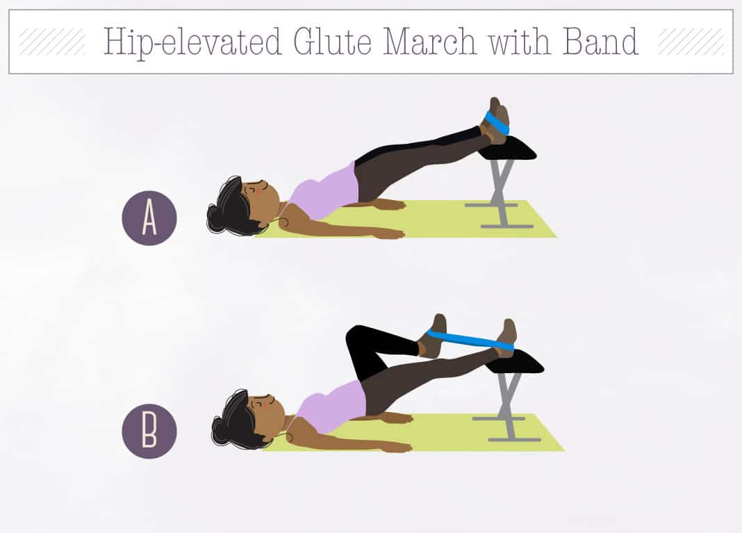 how to fix an elevated hip