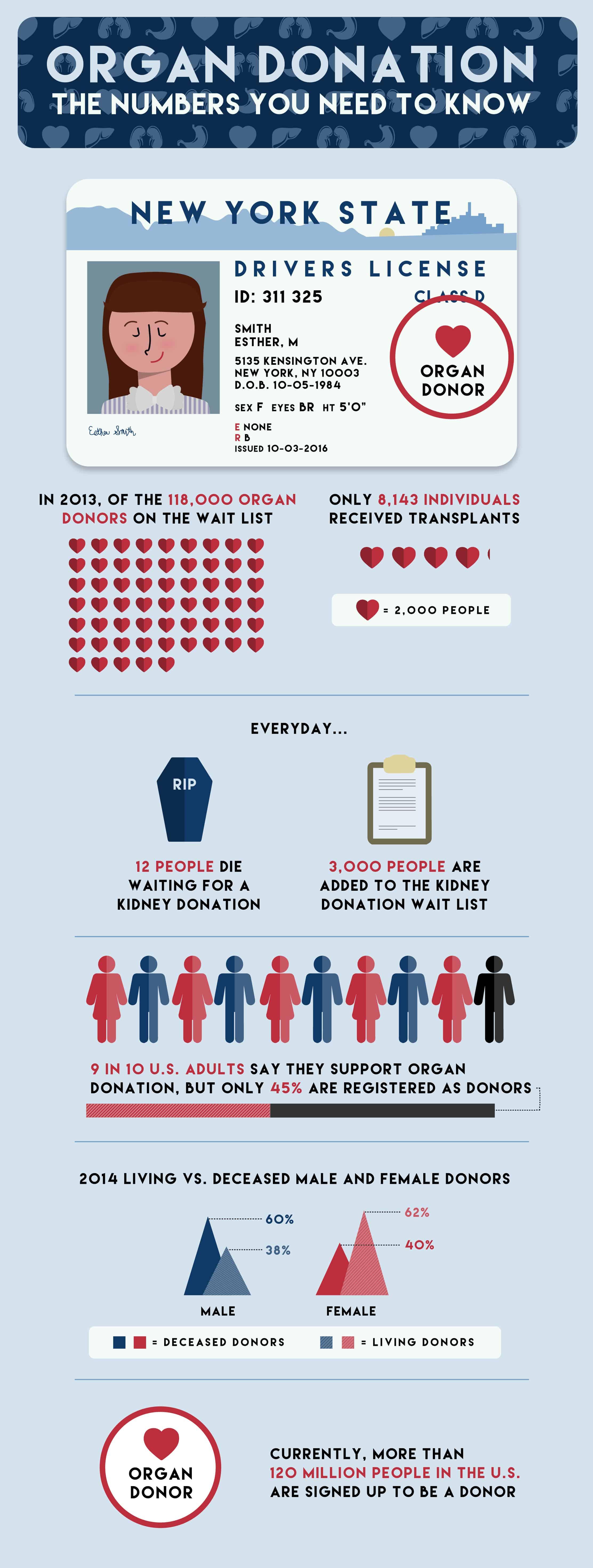Organ Donor Statistics