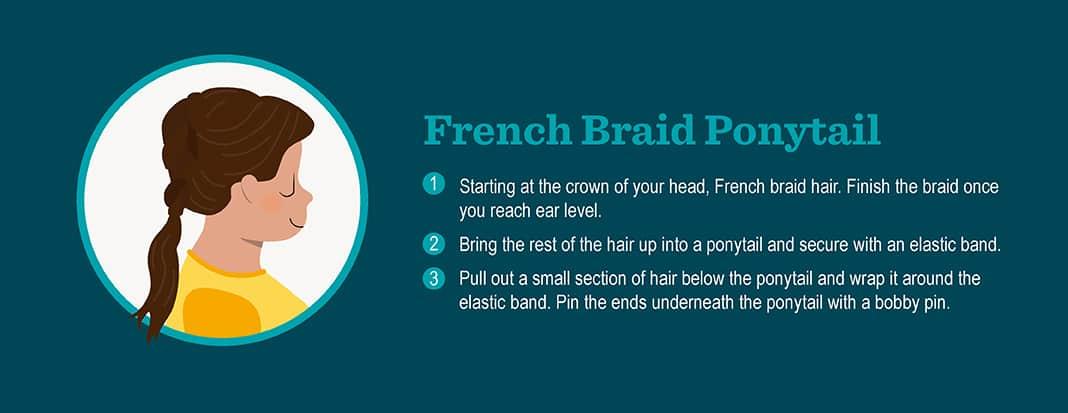 French Braid Pony Tail