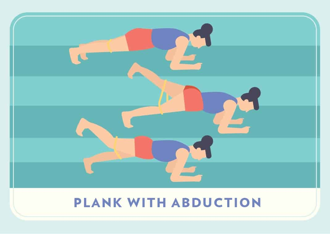 Plank with Abduction