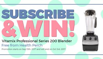 Win A Vitamix Professional Series 200 Blender!