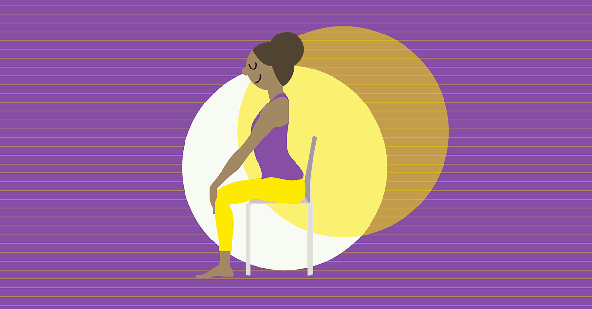 5 Yoga Poses You Can Do at Your Desk Chair