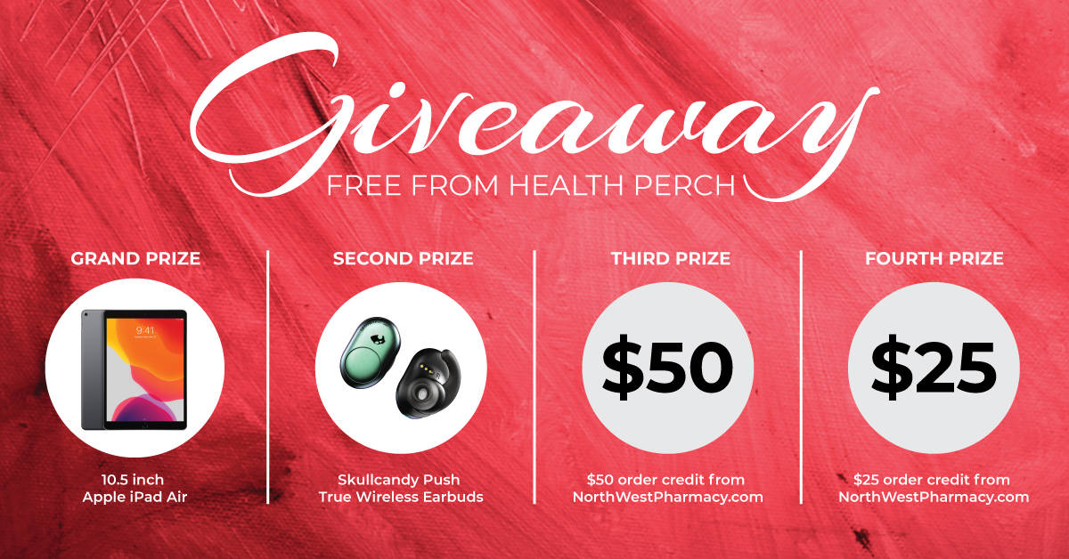 Giveaway free from Health Perch