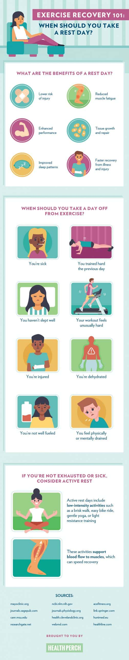 8 Times You Should Take a Rest Day