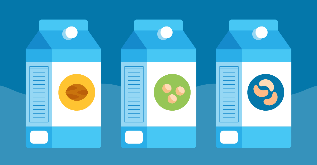 The Healthiest Nondairy Milk Alternatives Compared